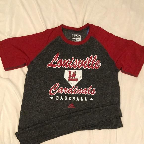 Louisville Cardinals Baseball Shirt 4c5e6ef59fab